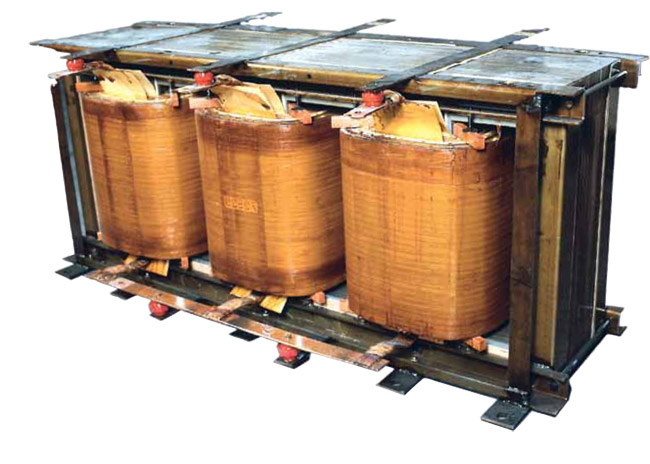 Продольная изоляция обмоток силового трансформатора